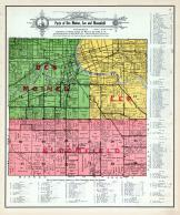 Des Moines, Lee and Bloomfield Townships, Raccoon River, Polk County 1914